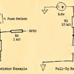 Microcontrollers and pull-up / pull-down resistors