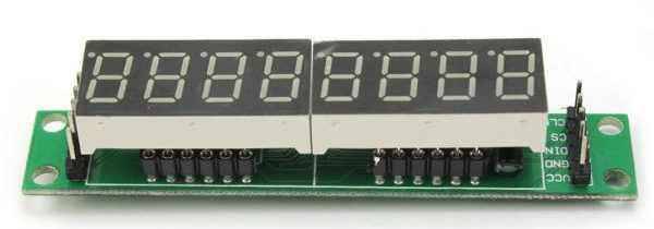ATtiny13 – running dots & digits on 7-segment LED tube display